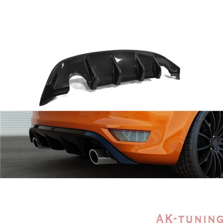 Bakre diffuser splitter - Ford Focus II ST Facelift | AK-FO-FO-2F-ST-RS1