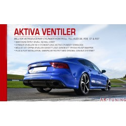 Aktiva ventiler modul till Audi S6/S7/RS6/RS7 | SSXAU675