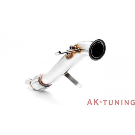 Downpipe (ersättningsrör) - BMW E9X (318d, 320d) - M47 (Euro 4) | AK-111-108