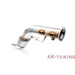 Downpipe (ersättningsrör) - BMW E71 X6 (3.0D) - M57 | AK-112-102