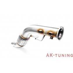 Downpipe (ersättningsrör) - BMW E83 X3 (3.0D) - M57 | AK-112-102