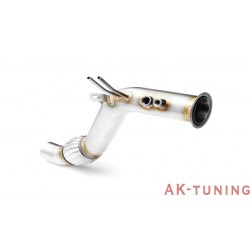 Downpipe (ersättningsrör) - BMW F25 X3 (18d, 20d, 28d) - B47 | AK-117-110
