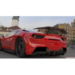 "Ferrari 488 GTB - DMC sidokjolar ""Orso"""
