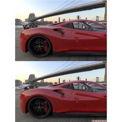 "Ferrari 488 GTB - DMC Carbon fiber vinge ""Orso"""