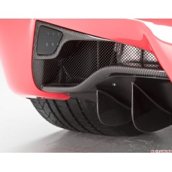 "Ferrari 458 Italia - DMC Carbon fiber rear foglight covers ""Elegante"" 
