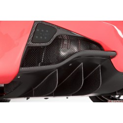 "Ferrari 458 Italia - DMC Carbon fiber bakre diffuser ""Elegante"" | DMC-23011"