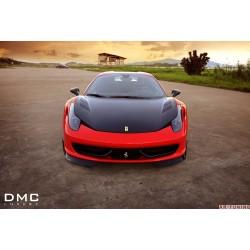 "Ferrari 458 Italia - DMC Carbon fiber motorhuv ""Elegante"""
