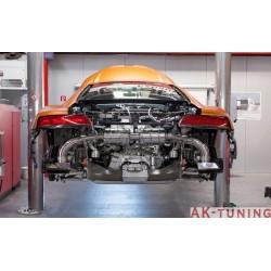 Audi R8 V10 mk2 2015+ Capristo Cat-Back med aktiva avgasventiler