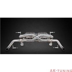 Audi R8 V8 07-12 - Capristo Cat-Back med aktiva avgasventiler | ca-aur8v8ph1