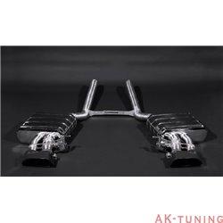 Audi RS4 B7 - Capristo Cat-Back med aktiva avgasventiler