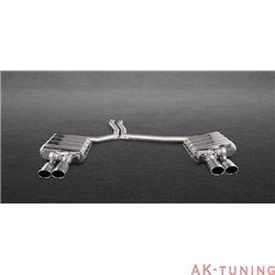 Audi S5 3.0TFSI - Capristo Cat-Back med aktiva avgasventiler