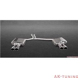 Audi S5 3.0TFSI Sportback - Capristo Cat-Back med aktiva avgasventiler