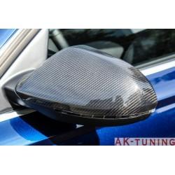 Kolfiber backspegel kåpor till Audi A6/S6/RS6 C7 | AK-eba6c7carbon