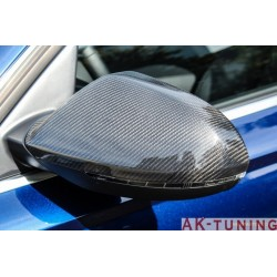 Kolfiber backspegel kåpor till Audi A6 C7