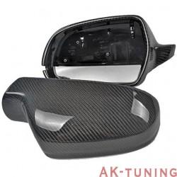 Kolfiber backspegel kåpor till Audi A5 B8.5 Facelift