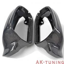 Kolfiber backspegel kåpor till Audi A4 B8.5 Facelift