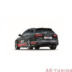 Audi RS6 C7 - Akrapovic Evolution System i Titan med kolfiber utblås | akra-au/ti/3h