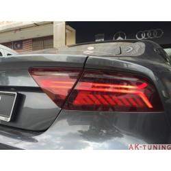 Audi A7/S7/RS7 facelift baklyktor - heldynamiska