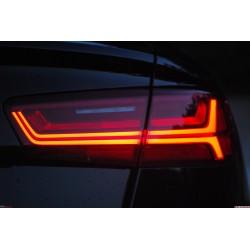 Audi A6/S6/RS6 facelift baklyktor - ej dynamiska | AK-FRE-A6-ickedyn