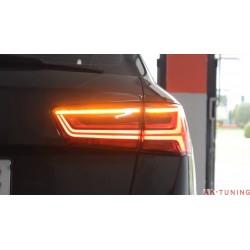 Audi A6/S6/RS6 facelift baklyktor - heldynamiska