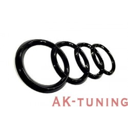 Audi blank svarta ringar bak | AK-blackringbak