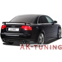 "Bakre stötfångare tillägg SET AUDI A4 B7 (center part + SIDE PARTS) ""RS3-look"""