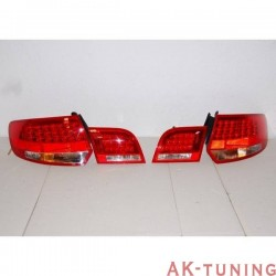 Bakre lyktor AUDI A3 SPORTBACK '04-08 LED RED/BLACK