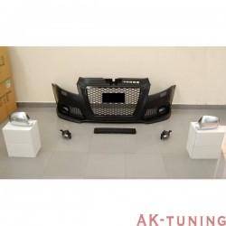 Frontstötfångare och Kromade backspegel kåpor AUDI A3 & SPORTBACK S3 2009-2012 Dimljus