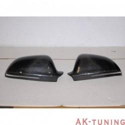 Kolfiber backspegel kåpor AUDI A4 | AK-CARA003