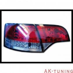 Bakre lyktor AUDI A4 2005-2008 SW, LEXUS RED/SMOKED | AK-FAAU084