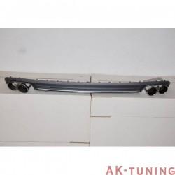 bakre diffuser AUDI A4 B8 LIMOUSINE / AVANT 2013-2015 LOOK S4 ABS