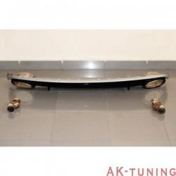 bakre diffuser AUDI A4 / A4 AVANT B8 08-12 LOOK RS4 ABS | AK-TCA0202