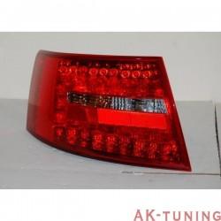 Bakre lyktor AUDI A6 2004-2007, LEXUS RED/SMOKED | AK-FAAU081