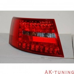 Bakre lyktor AUDI A6 2004-2007, LEXUS RED/SMOKED