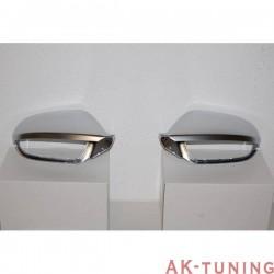 Kromade backspegel kåpor AUDI A6 / S6 C7 4G LOOK S6
