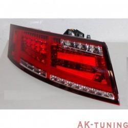 Bakre lyktor AUDI TT 8J 2006-2014 LED RED FLASHING LED