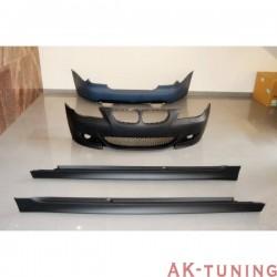 Kjolpaket BMW E60 2004-2009 LOOK M-TECH dubbla utblås | AK-TCB6112666761236183