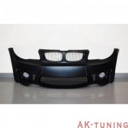 Frontstötfångare BMW E82 / E88 / E87 / E81 2005-2011, 3 eller 5-Dörrars LOOK M1 Dimljus | AK-TCB62050129