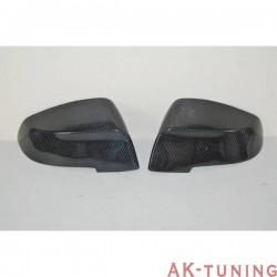 Kolfiber backspegel kåpor BMW F10/F11 LCI 13-16 | AK-CARB016