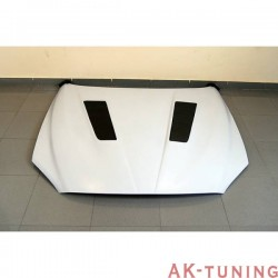 FIBREGLASS huv BMW F12 / F13, WITH Kolfiber AIR INTAKE | AK-TCBF121