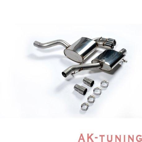 "Audi S3 2.0 T quattro 3-dörrars 8P Cat-back - Resonated (mer dämpad) 2,75"" | SSXAU126"