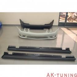 Kjolpaket MERCEDES W211 02-06 LOOK AMG E55 | AK-TCM002900330034