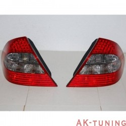 Bakre lyktor MERCEDES W211 06-09 LED RED | AK-FAME063