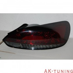 Bakre lyktor VOLKSWAGEN SCIROCCO 2008-2013 LED RED/SMOKED