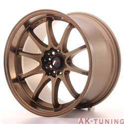 Japan Racing JR5 18x10.5 ET12 5x114.3 Dark ABZ