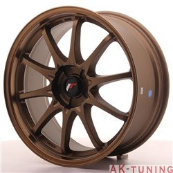 Japan Racing JR5 18x8 ET35 5H Blank Dark ABZ | JR518805X3574DABZ