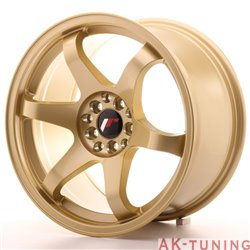 Japan Racing JR3 17x9 ET35 5x100/114 Gold | JR3179053573GD