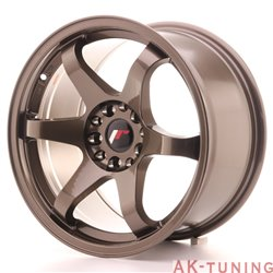 Japan Racing JR3 17x9 ET30 5x114.3/120 Bronze