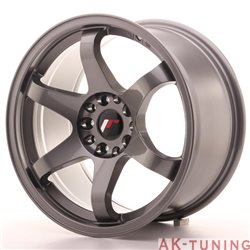 Japan Racing JR3 17x9 ET25 4x108/114.3 Gun Metal