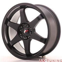 Japan Racing JR3 18x8 ET40 5x112/114 Matt Black | JR31880ML4074BF